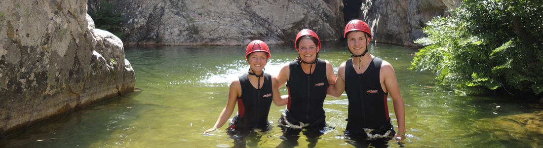 Canyoning und Caving